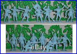 15 Marx Custers Last Stand (#6014 #4670) Reverse Confederates (©1963) EX