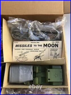 1950's MPC Multiple's Giant MISSILES TO THE MOON Marx Unassembled Sealed Bags