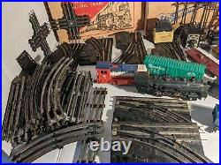 1950's Marx & Co Train Set Lot Steam Type Electric & Cape Canaveral Missile Exp