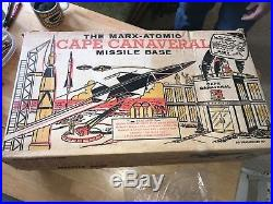 1950s Marx Atomic Cape Canaveral Missile Base Play set