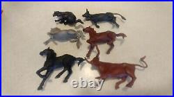 1952 Marx #3985 Roy Rogers Rodeo Ranch Playset Complete Instructions Nice Box G3