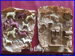 1953 Marx Pet Shop playset, VERY RARE, new in box, never assembled, in bags