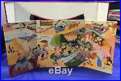 1953 Marx Toys Disney Television playset stage accessory Walt Disney WDP #4350