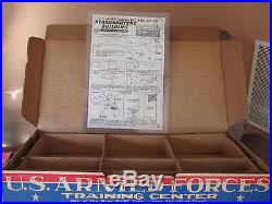 1954 Marx #4158 Armed Forces Training Center Complete with Box & Instructions