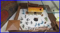 1956 Marx Rin Tin Tin Fort Apache Play Set with Box Series 500 #3657
