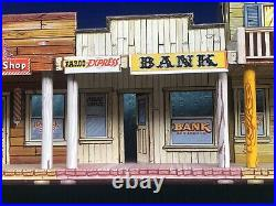 1956 Marx SILVER CITY Playset 4220 Western Frontier Town Building. Super Nice