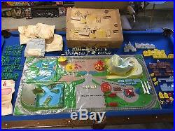 1958 Marx Disneyland Playset Sears With Original Box. Extremely Rare