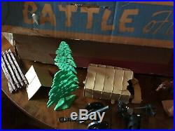 1959 Marx Battle of the Blue and Gray Play Set #4744 In Original Box