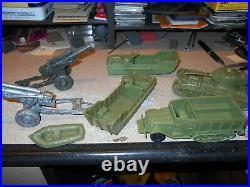 1960'S MARX WW II Battleground Play Set # 4204