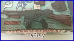 1960's Marx International Agent Spy Play Set MIB NRFB New Old Stock Never Used