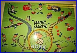 1960's Marx Toys Magic Marxie Employee Only Promotional Silk Scarf Only 1 Known