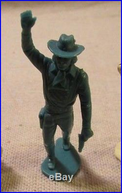 1960's marx playset 54mm general custer figure usa army 7th calvery