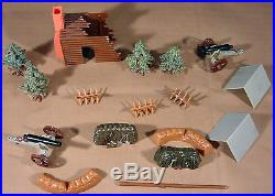 1960s MARX Miniature Blue and Gray Civil War Playset