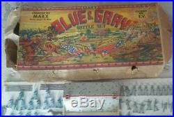 1960s MARX SEARS CIVIL WAR THE BATTLE OF THE BLUE AND GRAY PLAY SET BOX