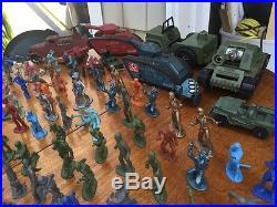 1960s Plastic Marx, Ideal, Remco Army Trucks, Army Men & More / Big Lot