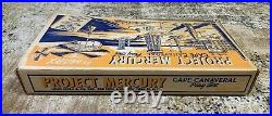 1960s Project Mercury Playset by Marx NASA Space Program in Box Cape Canaveral