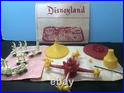 1961 Marx #5995 Disneyland Play Set Complete, Unplayed With Contents