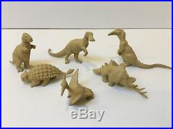 1961 Marx PREHISTORIC TIMES Playset #3398. All Original Contents Excellent
