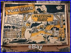 1962 No 4364 Marx Yogi Bear at Jellystone National Park Play Set in original box