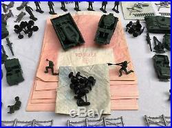 1963 Marx ARMY COMBAT Playset #6019. Complete. Original Contents. Unassembled