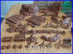 1964 MARX Battleground Playset #4756 100% complete in C-8.5 Box withDividers