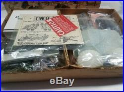 1964 Marx 4147 Iwo Jima Battleground Playset 100% Nice Box Must See