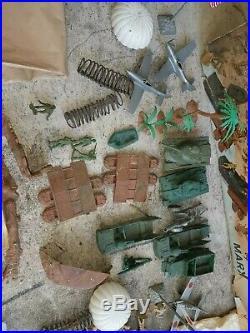 1964 Marx Iwo Jima Toy Playset #4147 65% complete