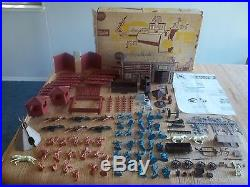 1966 MARX Allstate Fort Apache Playset #5951 100% complete in Box withInst