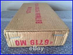1966 Marx Batman Magic Picture Pistol Gun Mib Unused Old Store Stock-in Shipper