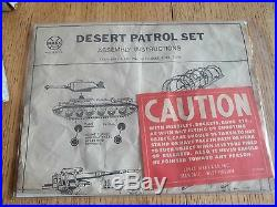 1967 MARX Desert Patrol Playset #4174 100% complete withBox, Inst. NM