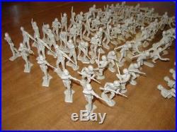 1967 Marx 4177 Sears Allstate 59922 Desert Fox Tan GI's Full Set of 88 Pieces