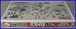 1967 Marx Desert Patrol 4174 Play Set Rare and Vintage