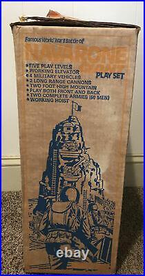 1970's Marx Navarone Giant Playset with Original Box 100% Original Everything