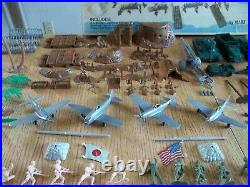 1972 MARX History in the Pacific playset #4164 99% Comp. In C-5 Box withDiv. Bags