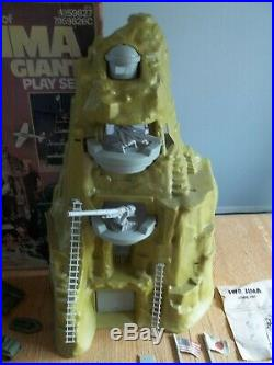 1972 MARX Iwo Jima mountain Playset #4314 100% complete in C-8 Box withInstructs