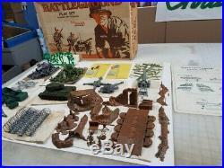 1972 Marx 4752 Complete Battleground Playset Chamberlain Box Art Special Wow