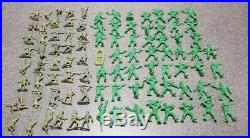 1976 Marx Battle Of Navarone Playset-Incomplete withTim Mee Large Scale Army Men