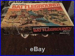 1978 MARX BATTLEGROUND PLAYSET #4202 MISB Sealed Unused NEW RARE Unopened MIB