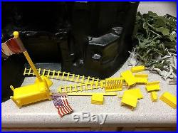 1981 Marx Navarone Mountain Giant Playset with box Lots of Pieces World War WWII