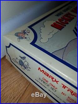 1999 Mickey Mouse Meteor Marx Train Locomotive Set 94/300 Disney playset NEW +