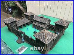 2008 BARZSO FORT APACHE Playset-Marx TSSD Conte 54-60mm. Very Limited Production