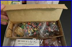 All Original Marx Miniature Playset Western Town Mint + Original Box