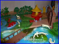 All original Marx Disneyland playset made for Sears by Marx in 1961 Disney