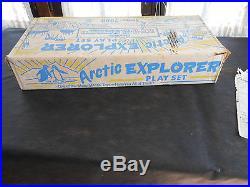Arctic Explorer Playset-Marx -Alaska- No. 3702-series 2000-looks complete, withbox