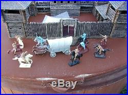 Barzso Rare Fort Apache Fort Playset, Conte Paragontssd Marx