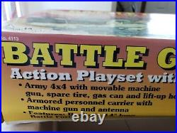 Battleground Terrain Playset 1966 Reproduced by MARX