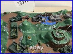 Battleground Terrain Playset 1966 Reproduced by MARX, and MPC are extras