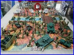 Battleground Where Eagles Dare 225 Pc Playset Genuine Marx Contents Custom Box