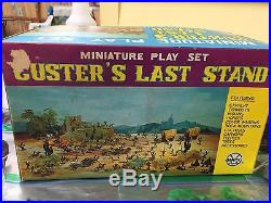 Custers Last Stand Toy Playset