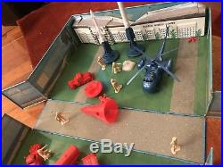 Cape Kennedy Vintage Marx Tin Playset c. 1967 Canaveral 95% complete directions